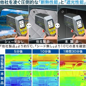 新型 SUBARU XV GT3/GT7系 カーテンめちゃ売れ!プライバシーサンシェード リア用 内装 カスタム 日除け カーフィルム 車中泊(01s-e015-re)|atmys|05