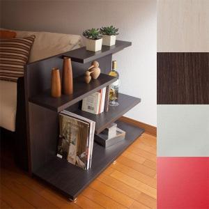 ディスプレイラック ローシェルフ サイドテーブル 飾り棚 間仕切り 北欧 カフェ 雑誌|atom-style