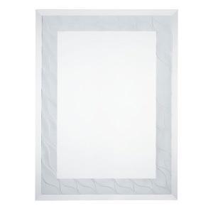 壁掛けミラー ウォールミラー 洗面所 幅45cm 高さ60cm おしゃれ 鏡 姿見 エントランス 化粧鏡 角型 atom-style