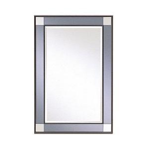 壁掛けミラー ウォールミラー 姿見 全身ミラー 壁掛け鏡 幅40cm 高さ60cm モダン 洗面所 atom-style