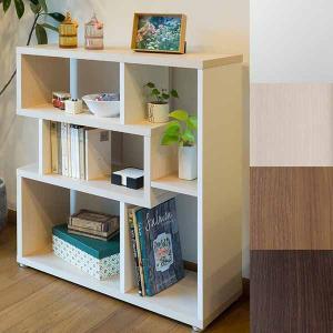 北欧 ディスプレイ 木製 飾り棚 収納 ローシェルフ おしゃれ 本棚 カフェ オープン 見せる|atom-style