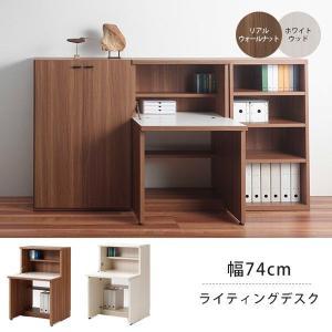ミニライティングデスク 机 パソコンデスク 壁面 日本製 完成品 おしゃれ 本棚|atom-style