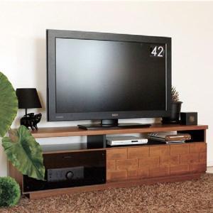テレビ台 150 完成品 ボード TV 収納 おしゃれ 幅150cm 日本製 木製 ガラス アンティーク調|atom-style