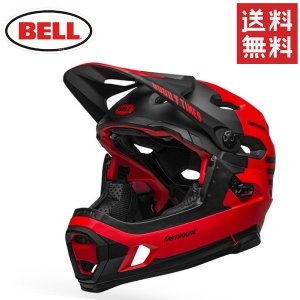 自転車 ヘルメット ベル スーパー DH ミップス BELL SUPER DH MIPS レッド/ブ...