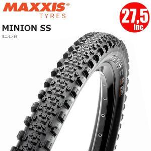 マキシス タイヤ ミニオンSS MAXXIS MINION SS 27.5×2.5 ワイヤー 3C マウンテンバイク タイヤ|atomic-cycle