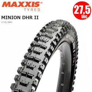 マキシス タイヤ ミニオンDHR2 MAXXIS MINION DHR 2 27.5×2.40 ワイヤー 3C マックスグリップ マウンテンバイク タイヤ|atomic-cycle