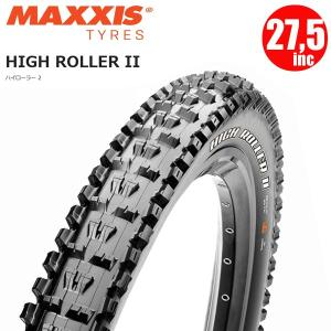 マキシス タイヤ ハイローラー2 MAXXIS HIGHROLLER 2 27.5×2.4 ワイヤー 3C マックスグリップ マウンテンバイク タイヤ|atomic-cycle