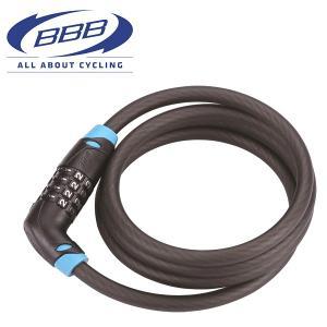 BBB コードセーフ 10×1500mm ケーブルロック 030151|atomic-cycle
