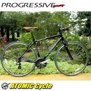 クロスバイク プログレッシブ PROGRESSIVE FRD-180 FRD-180 ブラック クロスバイク