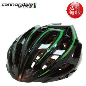 キャノンデール ヘルメット テラモ CANNONDALE TERAMO BLK/GRN L/XL(58-62cm) 自転車 ヘルメット|atomic-cycle