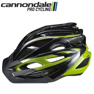 キャノンデール ヘルメット ラディウス CANNONDALE RADIUS BLKGRN S/M(52-58cm) 自転車 ヘルメット|atomic-cycle