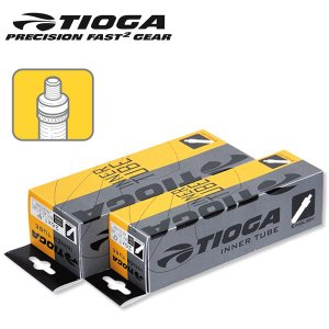 TIOGA タイオガ チューブ TIT08000 インナーチューブ 英式 14x1.75-2.125 27mm|atomic-cycle