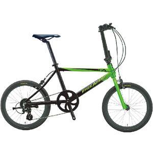 FREE AGENT フリーエージェント 折りたたみ自転車 Lime/Black|atomic-cycle
