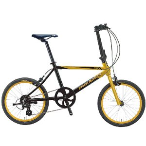 FREE AGENT フリーエージェント 折りたたみ自転車 Gold/Black|atomic-cycle