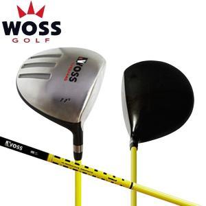 「42.75インチ/短尺仕様」 ウォズ ゴルフ 短尺オフセット ドライバー WOSS オリジナル短尺専用 カーボンシャフト