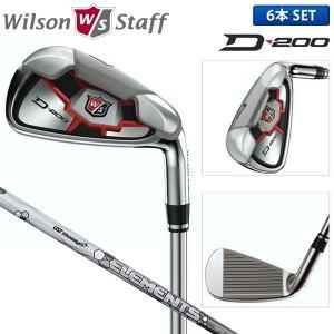 ウィルソン ゴルフ D200 アイアンセット 6本組 (5-...