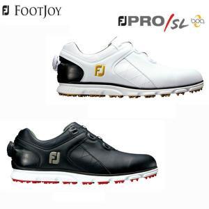 「幅W(2E相当)」 フットジョイ ゴルフ FJ プロ SL ボア ゴルフシューズ 56846/56847 BOA