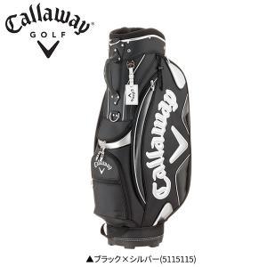 キャロウェイ ゴルフ スポーツ 5115115 キャディバッグ ブラック×シルバー(5115115)