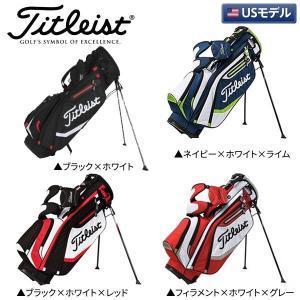 「USモデル」 タイトリスト ゴルフ ライトウェイト TB5SX6 スタンド キャディバッグ|atomic-golf