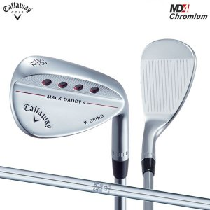 キャロウェイ ゴルフ マックダディ4 MD4 クロムメッキ ウェッジ NSプロ 950GH スチールシャフト|atomic-golf