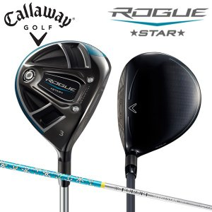 キャロウェイ ゴルフ ローグ スター フェアウェイウッド フブキ スピードスター バージョン カーボンシャフト ROGUE STAR|atomic-golf
