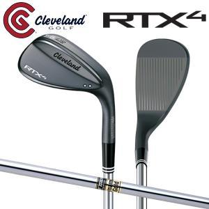 クリーブランド  ゴルフ RTX4 ブラックサテン ウェッジ ダイナミックゴールド スチールシャフト...