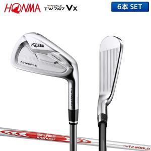 ホンマ ゴルフ ツアーワールド TW747Vx アイアンセット 6本組 (5-10) NSプロ モー...