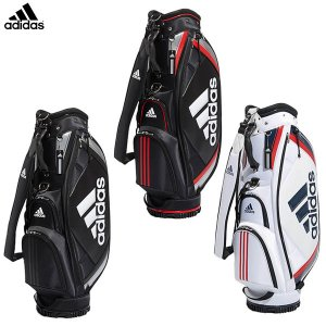 アディダス ゴルフ ベーシック XA227 カート キャディバッグ adidas ゴルフバッグ