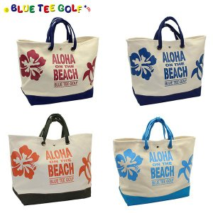 巛メンズ BLUE TEE GOLF ALOHA ON THE BEACH メンズ(バッグ) ボスト...
