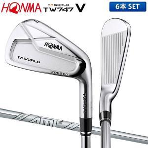 ホンマ ゴルフ ツアーワールド TW747V アイアンセット 6本組 (5-10) ダイナミックゴー...