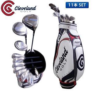 クリーブランド ゴルフ CG ボックス セット クラブセット 11本組 (1W,3W,4U,I5-PW,SW,PT) キャディバッグ付き 初心者向け BOX SET 在庫限り
