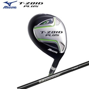 a74be8fa511f ミズノ ゴルフ Tゾイド プラス フェアウェイウッド T-ZOID PLUS カーボンシャフト MIZUNO ティーゾイド