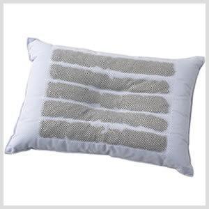 備長炭 低反発チップ枕 43×63cm|atorie-moon