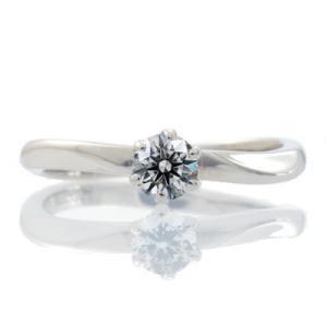 エンゲージリング 婚約指輪 ダイヤモンド プラチナ リング 0.2ct「Calm flow」鑑定書付 E-VS2以上-3EX|atorie-shun