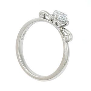 エンゲージリング 婚約指輪 ダイヤモンド プラチナ リング 0.3ct「Twinkle of tiara 2」0.3ct 鑑定書付 D-VVS2以上-3EX|atorie-shun