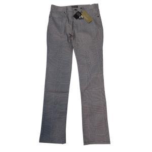 メンズパンツ 春夏モデル グレンチェック ストレッチパンツ 大幅値下げ 76 79 cm グレー