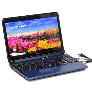 中古パソコン ノートパソコン 富士通 LIFEBOOK AH56/C 新品SSD Core i7 2670QM 2.2GHz 8GB 512GB Windows10 Office 15インチ DVDマルチ|atriopc