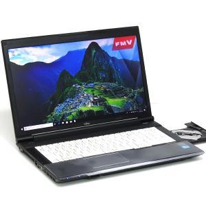 中古パソコン ノートパソコン 本体 富士通 LIFEBOOK N532/E 17インチ SSD搭載 Core i5 3320M 2.6GHz 4GB 128GB Windows10 Office搭載 DVD|atriopc