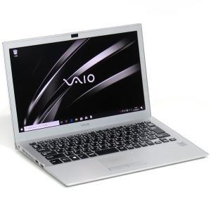 ノートブック ノート パソコン Win10 64bit ソニー モバイル 薄型  商品形式 中古品 ...