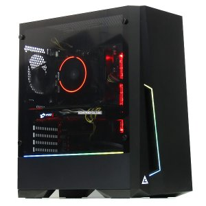 ゲーミングPC 自作機 新品SSD Ryzen 7-2700 8コア16スレッド GeForce G...