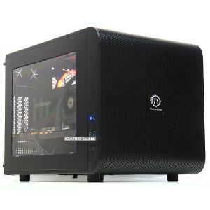 美品 キューブ型 ゲーミングPC 自作機 GeForce RTX2080 Super Ryzen 5 3600 6コア メモリ16GB 新品NVMeSSD 512GB Windows10 LibreOffice 中古 デスクトップ 本体 atriopc