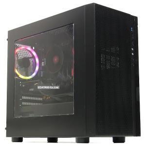 美品 ゲーミングPC 自作機 Ryzen 5 3600 3.6GHz 6コア12スレッド 新品NVMeSSD メモリ16GB 512GB GeForce GTX1660 SUPER Windows10 LibreOffice 中古 atriopc