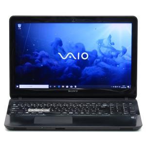 新品SSD SONY VAIO Fit 15E SVF1521BAJ Core i5 3337U メモリ8GB 256GB 15インチ Windows10 Webカメラ テンキー LibreOffice 中古 ノートパソコン 本体|atriopc