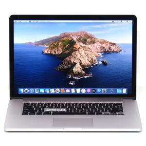 メモリ16GB Apple MacBook Pro Mid 2015 15.4インチ Retina Core i7 4770HQ 2.2GHz SSD256GB IrisPro USキー 中古 ノートパソコン OS変更オプションあり|atriopc
