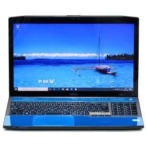 大容量新品SSD 富士通 LIFEBOOK AH77/J Core i7 3632QM 4コア 8GB 512GB Blu-ray Windows10 15インチ Webカメラ LibreOffice 中古 ノートパソコン 本体|atriopc