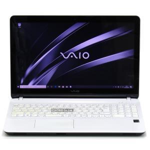 なめらかフルHD 新品SSD SONY VAIO Fit 15E VJF152C11N 第4世代 Core i5 6GB 256GB 15インチ Webカメラ Windows10 LibreOffice 中古 ノートパソコン 本体|atriopc