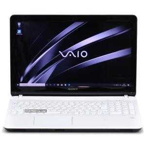 新品SSD SONY VAIO Fit 15E SVF15218CJW Core i5 3337U 4GB 256GB Blu-ray Windows10 15インチ 中古 ノートパソコン 本体 訳あり特価品!|atriopc