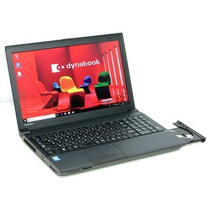 中古パソコン ノートパソコン 本体 新品SSD 東芝 dynabook Satellite B554/M Core i5 4310M 2.7GHz 4GB SSD256GB 15.6インチ Windows10 Office搭載|atriopc