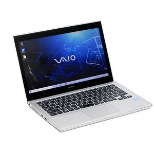 タッチパネル ノートパソコン SONY VAIO SVT13139CJS Core i5 3337U 1.8GHz 4GB 500GB 13.3インチ Windows10 LibreOffice 中古 本体 Webカメラ Bluetooth|atriopc