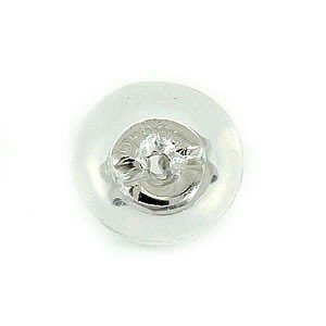 ピアス プラチナ 片耳用 ピアスキャッチ プラチナ900 シリコンキャッチ Mサイズ レディース|atrus